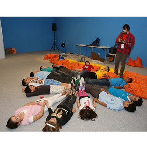Musician Conducts Experimental Audience Decomposition Workshops at the Sharjah International Book Fa
