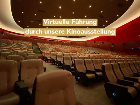Virtuelle Führung durch die große Kinoausstellung