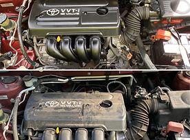 mobile car detailing darwin palmerston engine bay