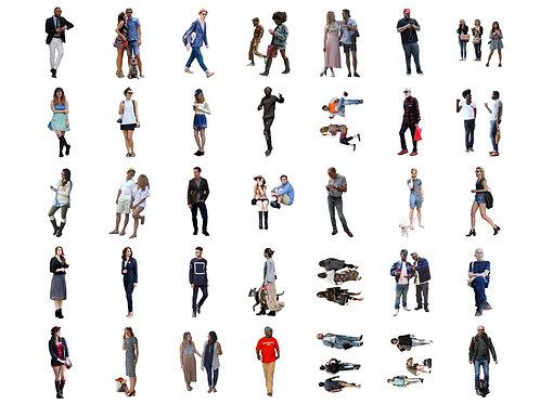 100 Escalas Humanas Pack002 PNG