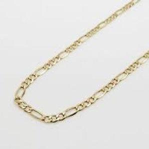 Figarro Chain 10K Gold