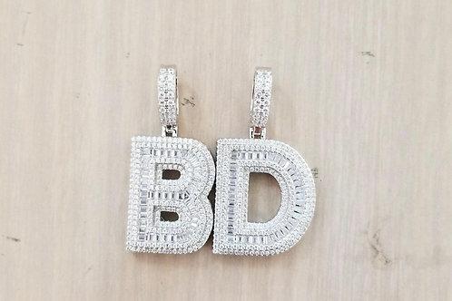 Baguette Lab Diamond Letter