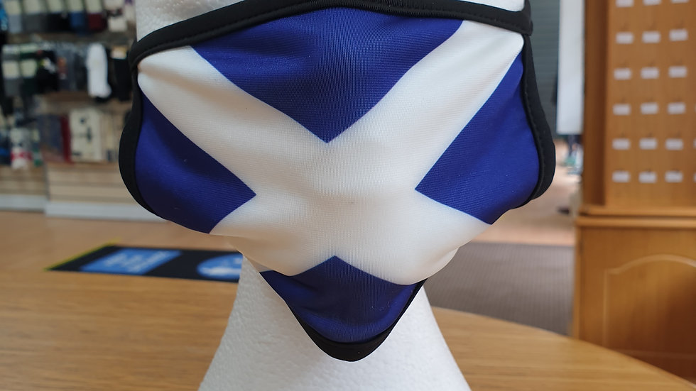 ST ANDREW'S - SALTIRE FACEMASK