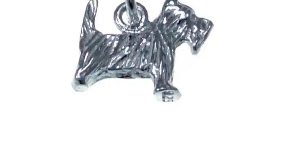 925 STERLING SILVER SCOTTIE DOG PENDANT