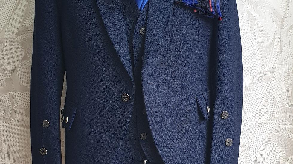 (HIRE) : FULL HIGHLAND DRESS KILT OUTFIT RANGERS TARTAN
