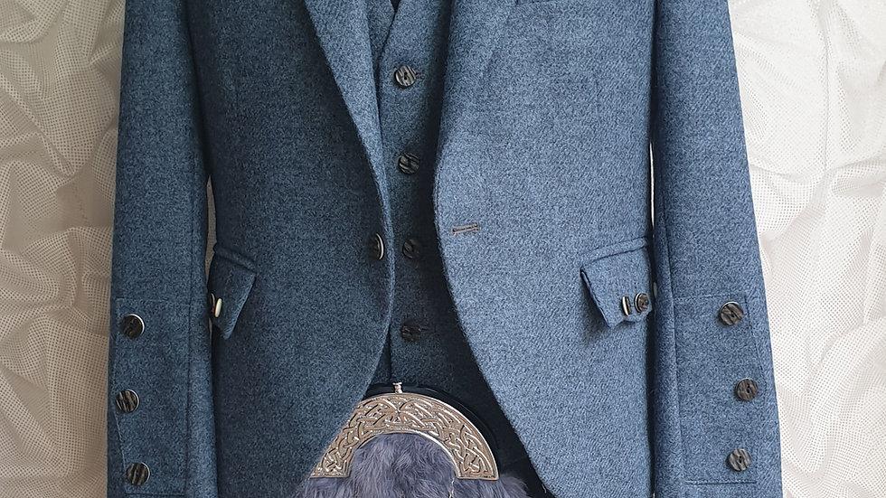 (HIRE) : FULL HIGHLAND DRESS KILT OUTFIT BLACKWATCH TARTAN