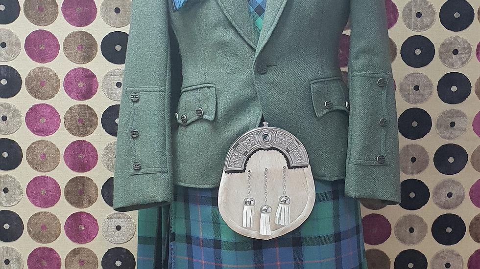 (HIRE) FULL HIGHLAND DRESS KILT OUTFIT FLOWER OF SCOTLAND