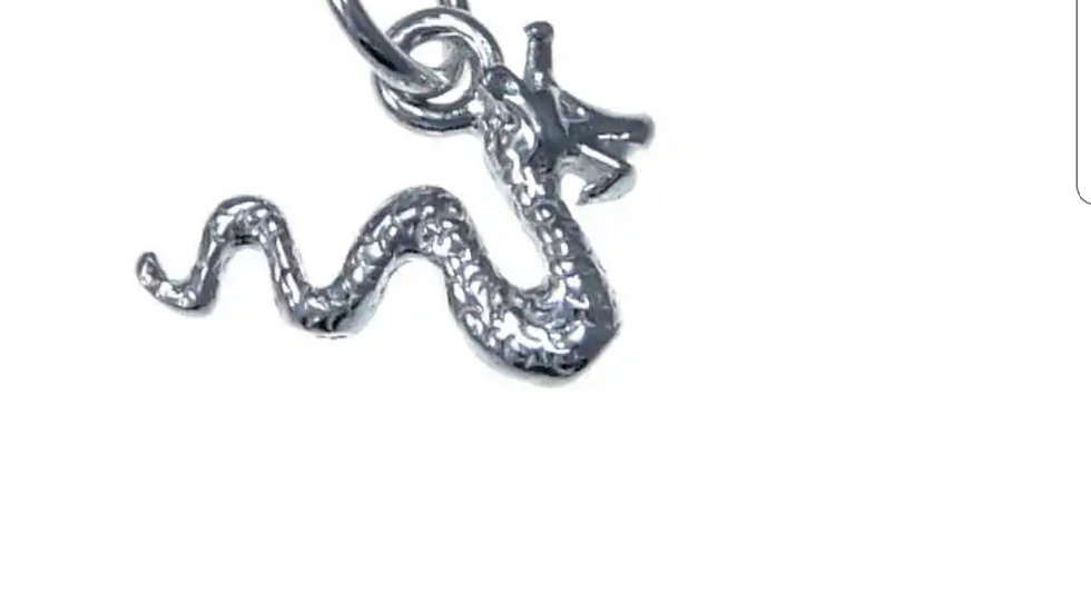 925 STERLING SILVER NESSIE PENDANT