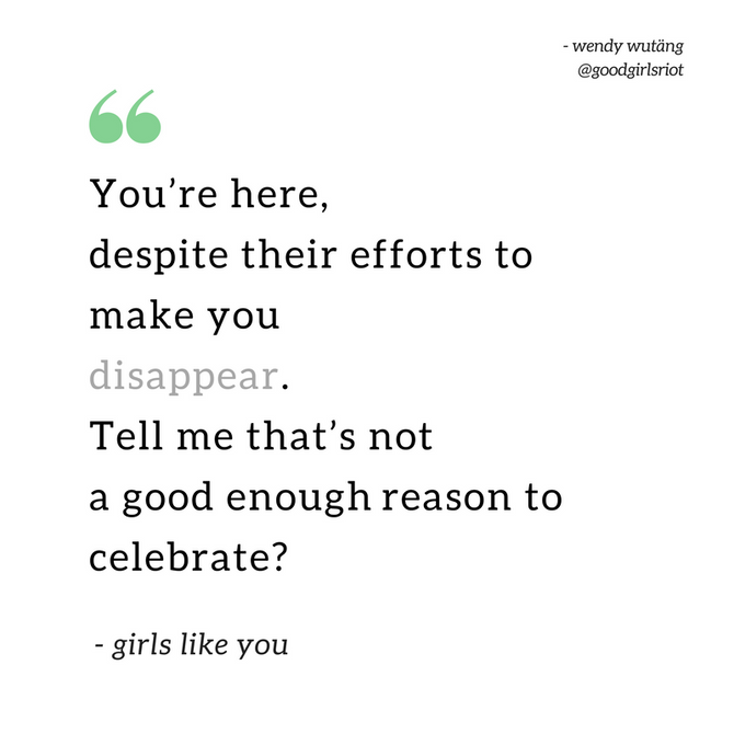 """Girls like you"""