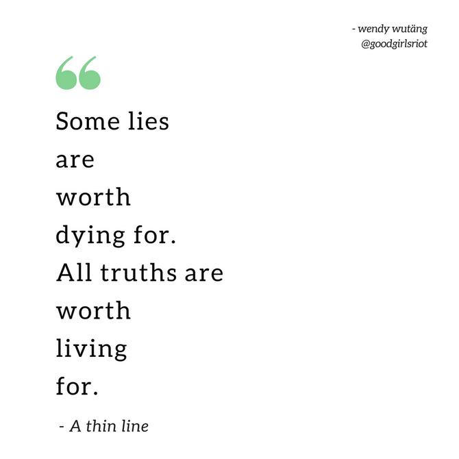 """""""A thin line"""""""