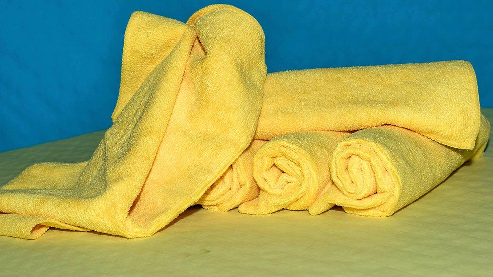 Micro-fibre jaune