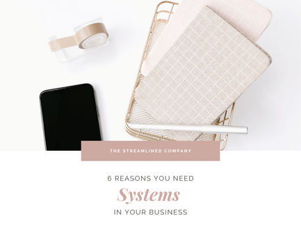 6 Reasons You Need Systems within your Business