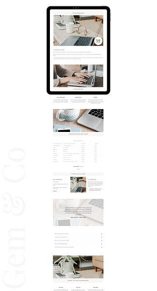 Website Graphic Client Transformation on