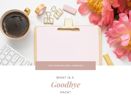 What is a Client Goodbye Pack?