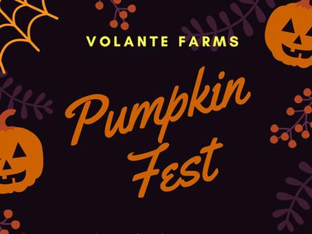 Volante Farms 6th Annual Pumpkin Fest!
