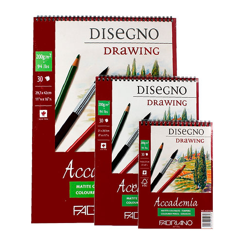 Block Accademia Fabriano (Disegno Drawing)
