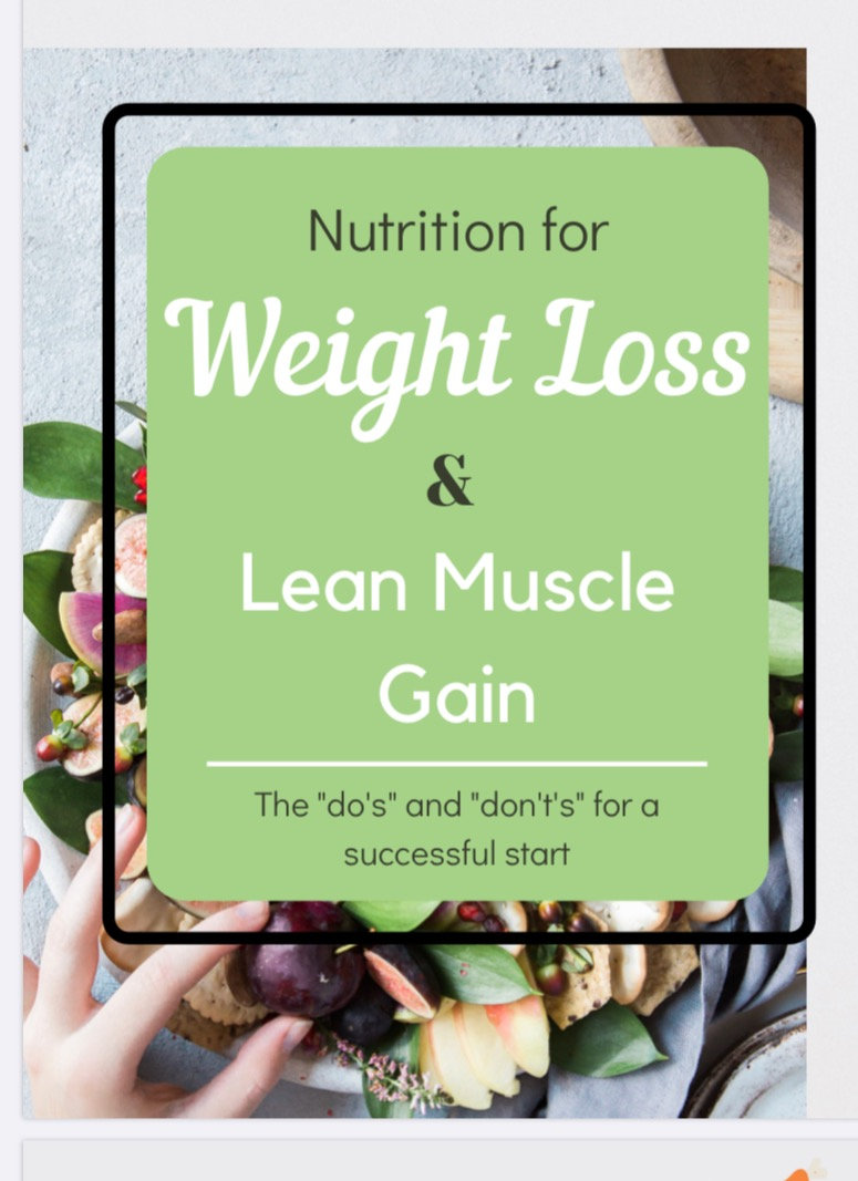 How To Lose Fat & Gain Muscle- FREE
