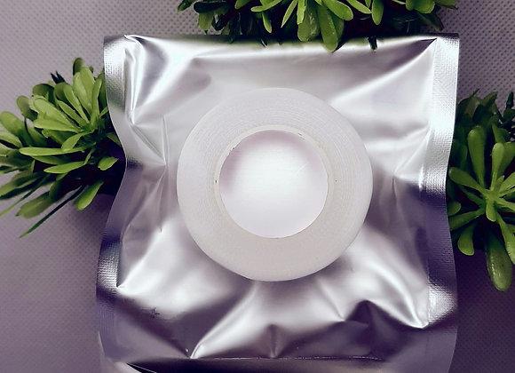 🌴Скотч белый, перфарированный, пластиковый