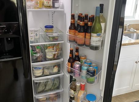 Unpacking - Fridge & Freezer