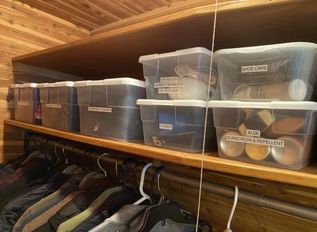 Unpacking - Utility & Coat Closet