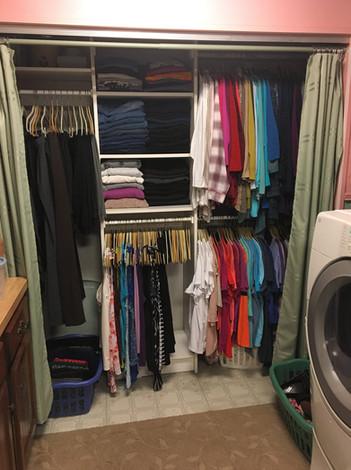 Busy Mom's Closet