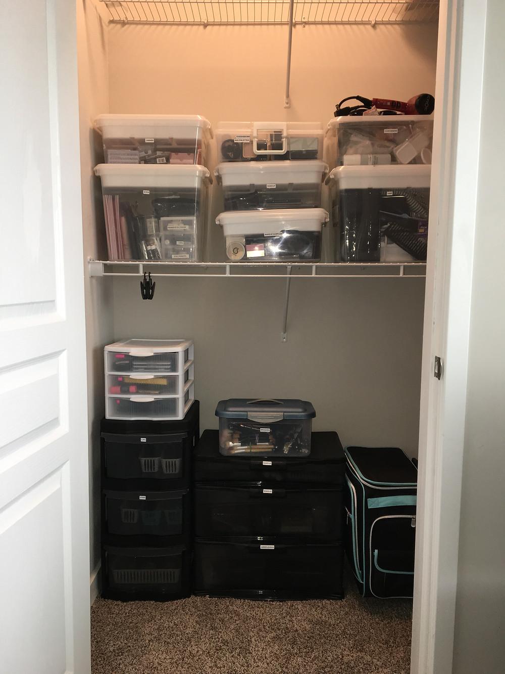 irmas closet after