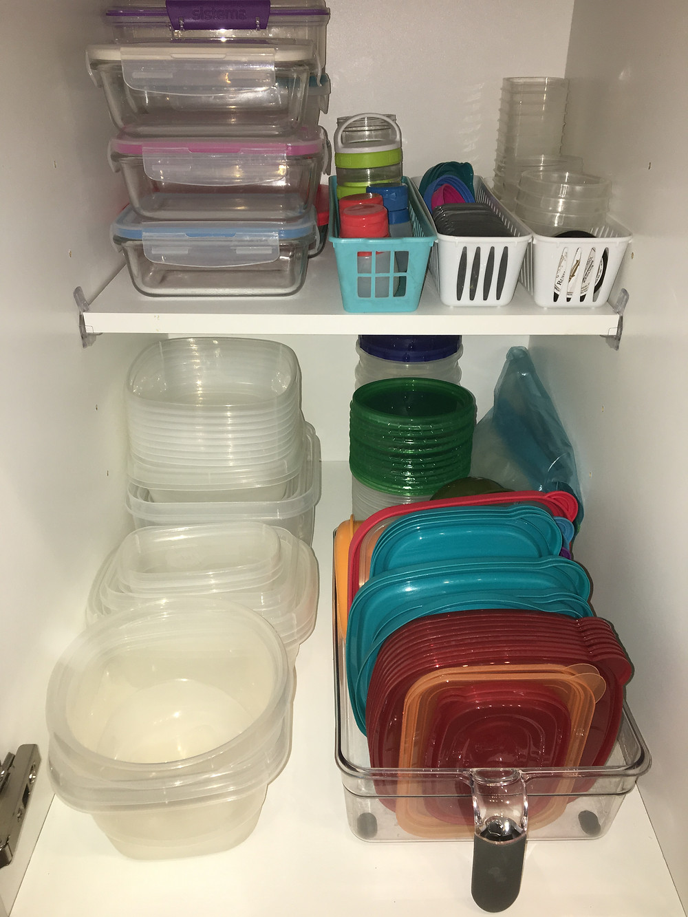 Tupperware after