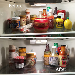 Fridge Shelf Before & After