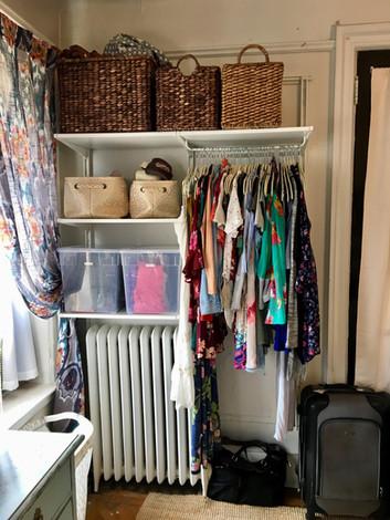 Closet in NYC