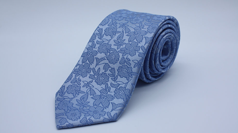 Light Blue Paisley