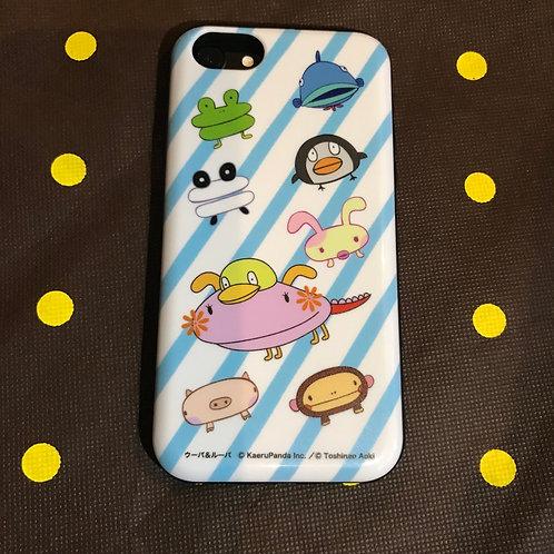 iPhone用カードスライドケース iPhone6/7/8対応/ウーパ&ルーパ