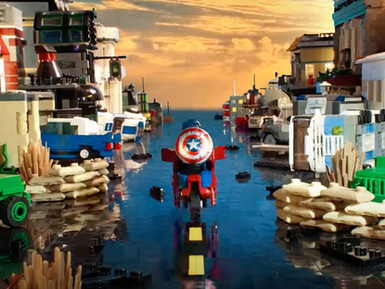 Brickfilm Feature: Lego Captain America 3:  Nazi Zombies