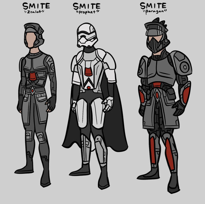 Agents of SMITE by Jack Bauer