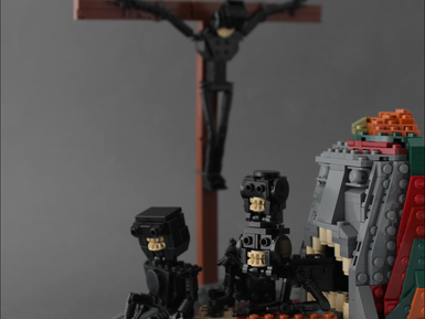 The Nightmare Artist in LEGO
