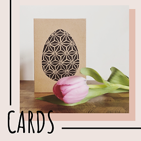 Shop handmade lino print cards by freelance artist Becci Kidd Studio