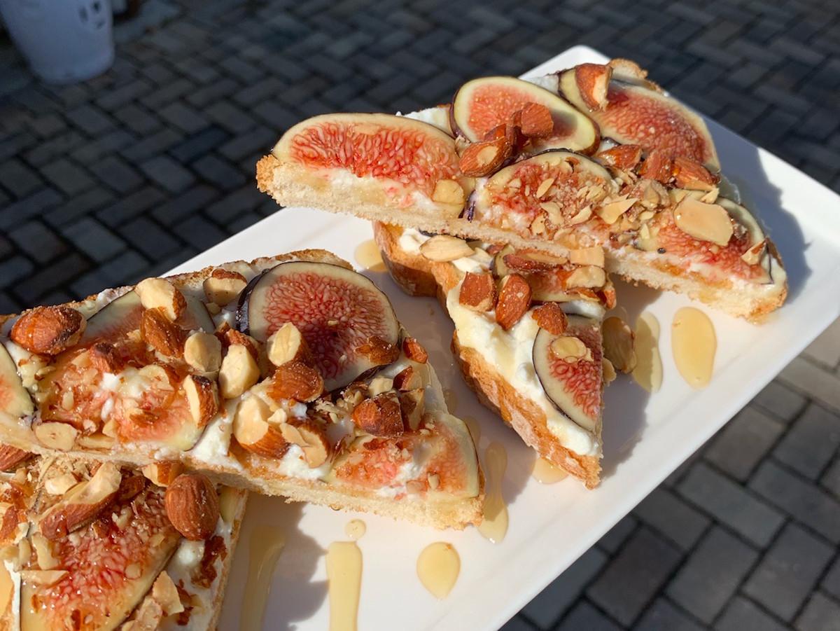 Scratch Ricotta & Fig Toast