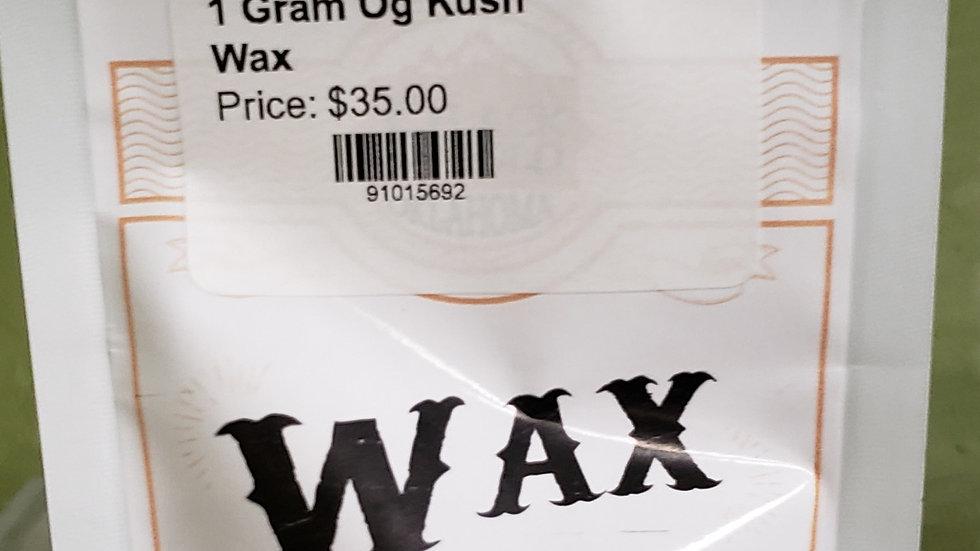 1 Gram OG Kush Wax