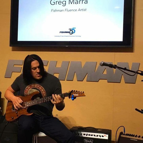 NAMM Fishman Demo