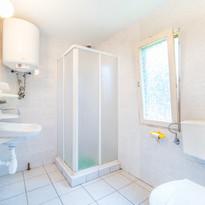 Łazienka w domku 5-cio osobowym