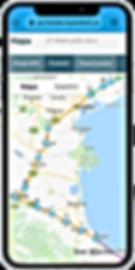 GPS tracker s free web aplikací.