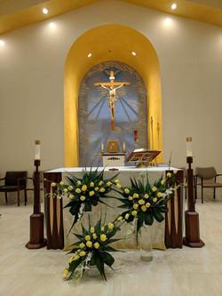 OLLV altar