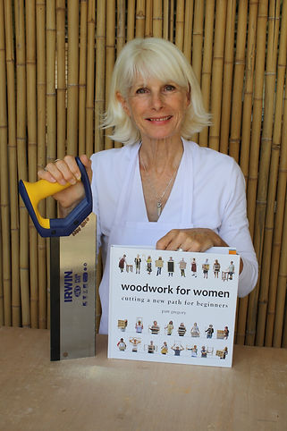 patt-gregory-holding-woodwork-for-women-book-and-saw