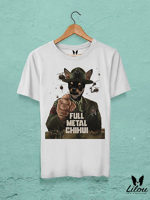 T-shirt uomo FULL METAL CHIHUI