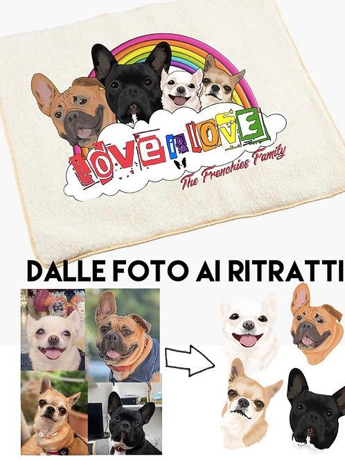 Copertina personalizzata - love is love