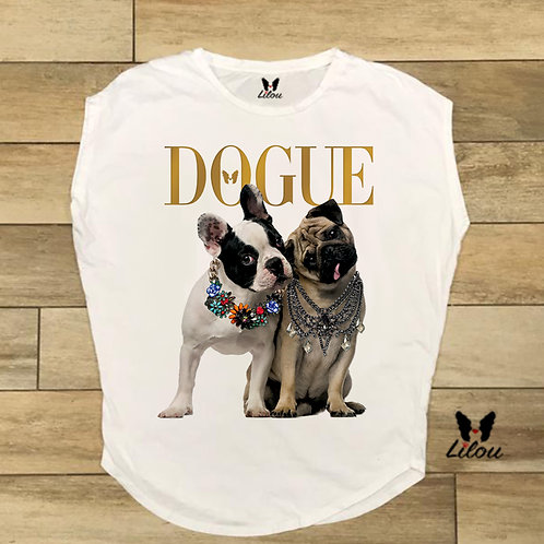 T-shirt donna OVETTO DOGUE