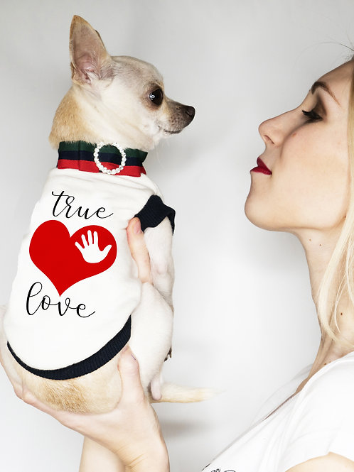 Felpa Chihuahua True Love