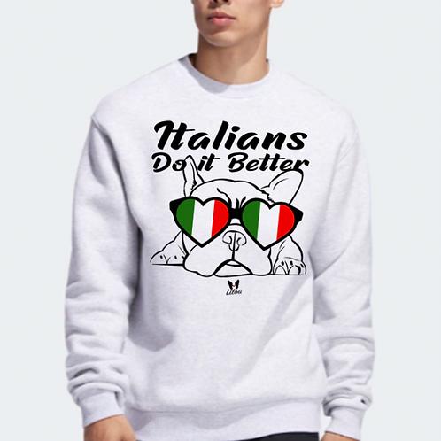 FELPA BULLDOG ITALIAN FRENCHIE