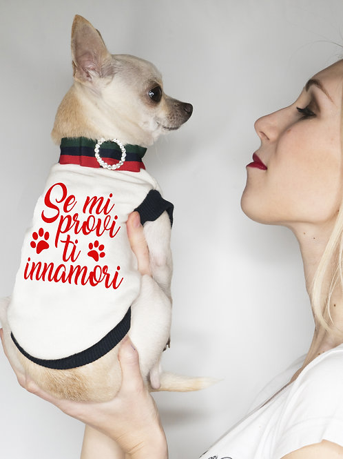 Felpa Chihuahua se mi provi ti innamori