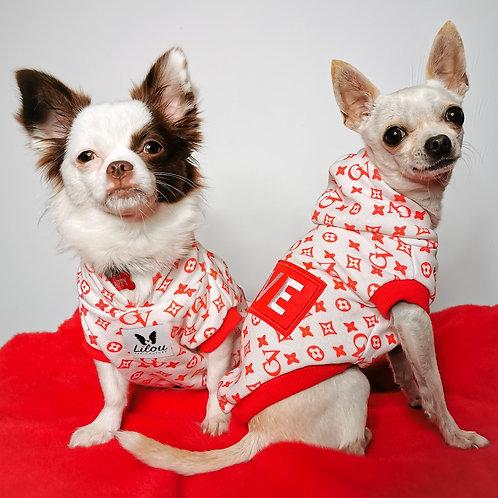 Felpa Chihuahua Monogram - Love