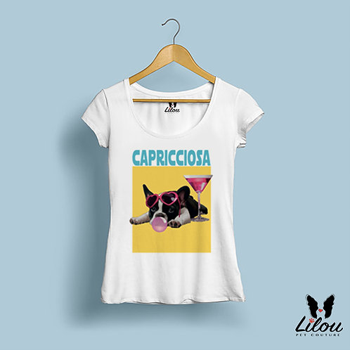 T-shirt donna slim fit CAPRICCIOSA
